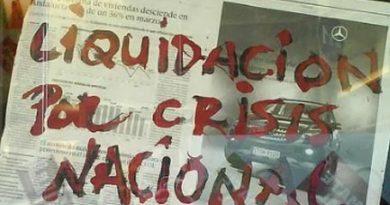 """""""LIQUIDACION POR CRISIS"""""""